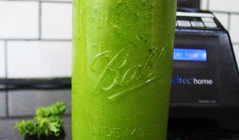 Tropical Green Bean Smoothie