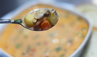 Blushing Clam Chowder …Soup? …Chowder! …Soup!